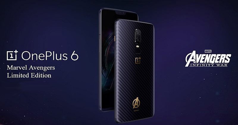 OnePlus 6 Marvel Avengers Limited Edition Price, Specification And Images