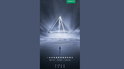 OPPO Find X New Teaser Released: Features Dual Edge Curved Display