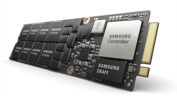 Samsung Reveals High-Performance 8TB SSD in Next-generation NF1 Form Factor