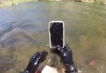 iPhone X Found Under-River Shockingly In Working Condition (Video)