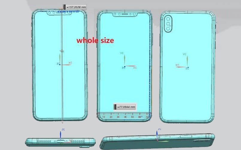 iPhone X Plus Schematics Leaked: Best-Ever Features Revealed