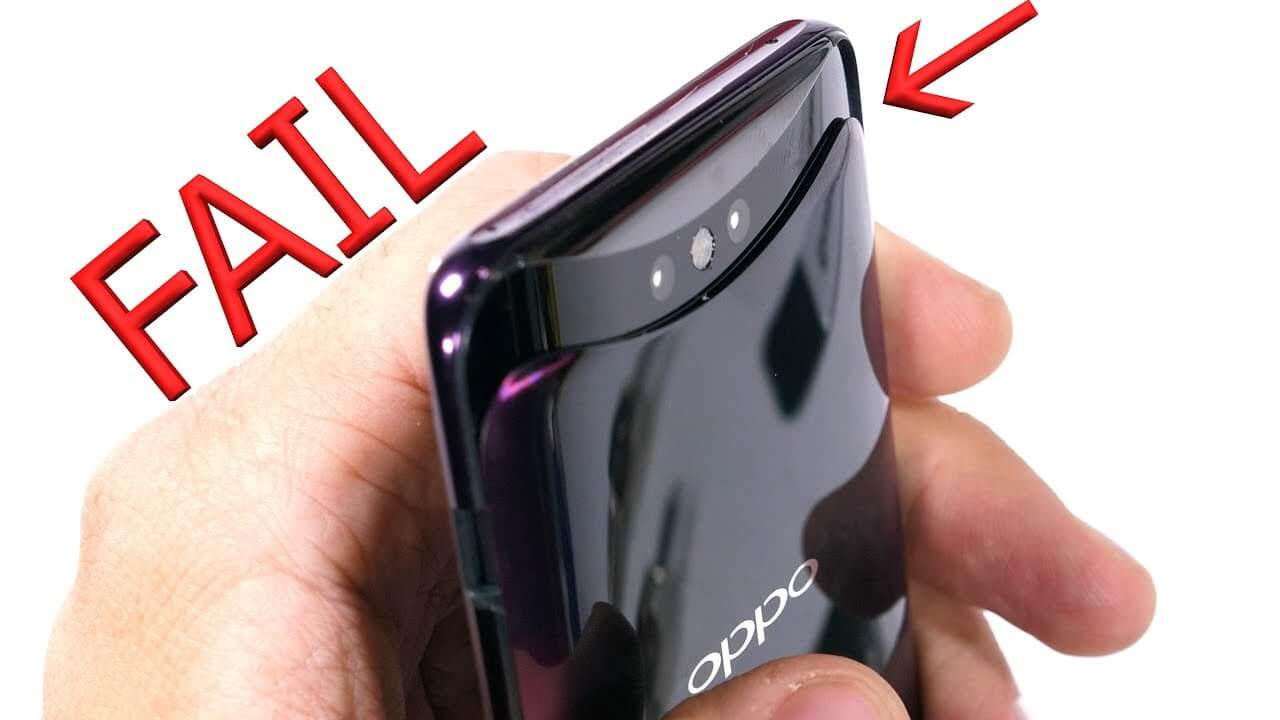 Oppo Find X Shockingly Fails In Durability Test Here's The Proof