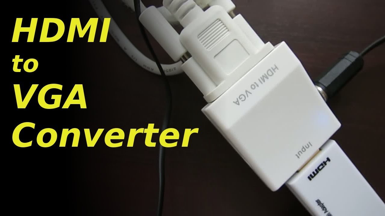 Top 10 Best HDMI To VGA Cable Converter Cheap Price