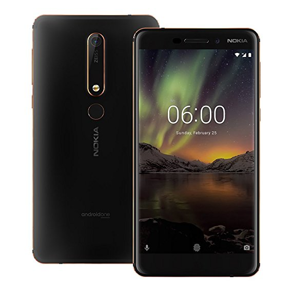 1. Nokia 6.1 | Best Smartphones July 2018 [Top 10] (Average Cost)