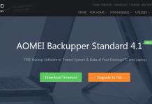 Meet AOMEI Backupper Which Replaces Windows Inbuilt Backup Program