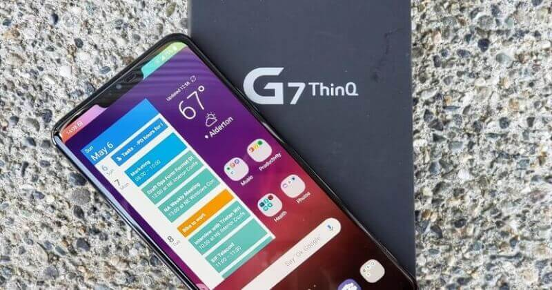 SOLVED: How To Fix LG G7 THINQ Camera Issue