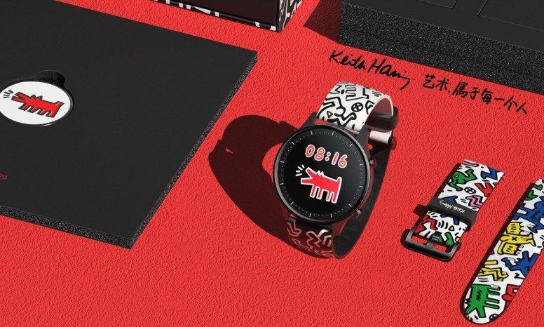 xiaomi watch color x keith haring special edition