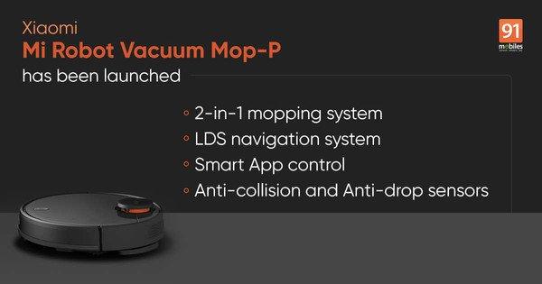Mi Robot Vacuum-Mop P