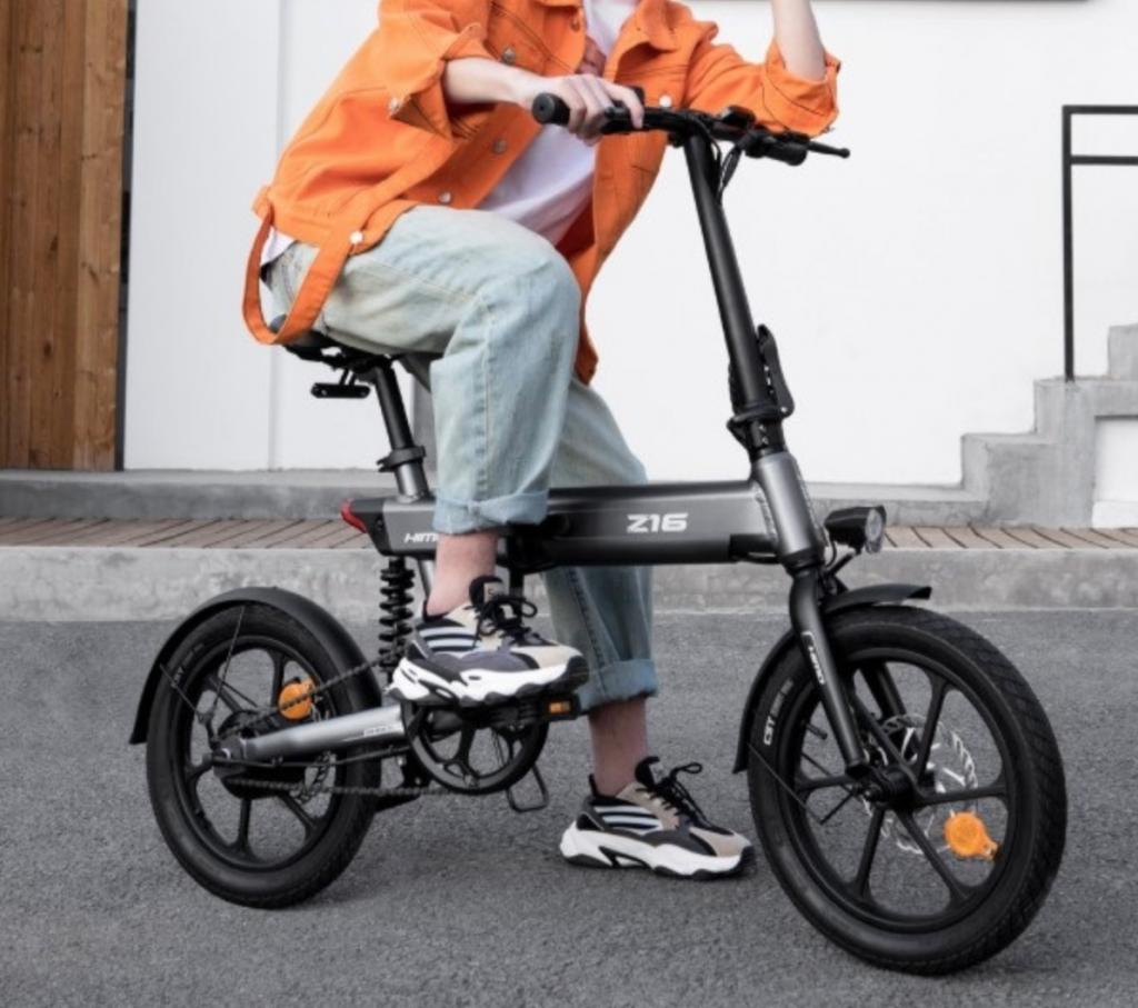 Xiaomi Himo Z16 Folding Electric Bicycle Appears Under