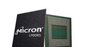 Micron LPDDR5 RAM