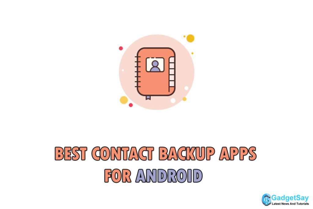 contact backup apps android