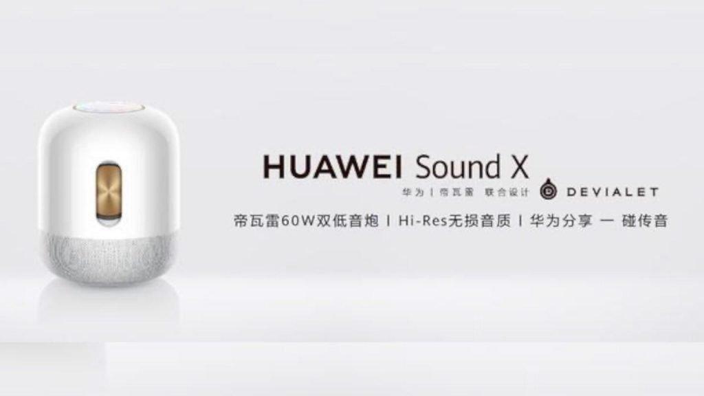 Huawei Sound X Platinum Edition