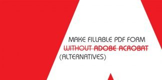 make fillable pdf for without adobe acrobat