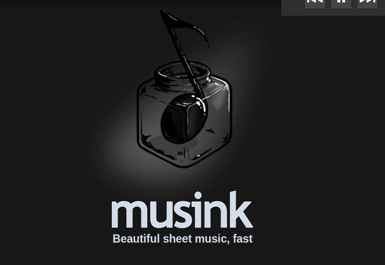 Musink-screenshots