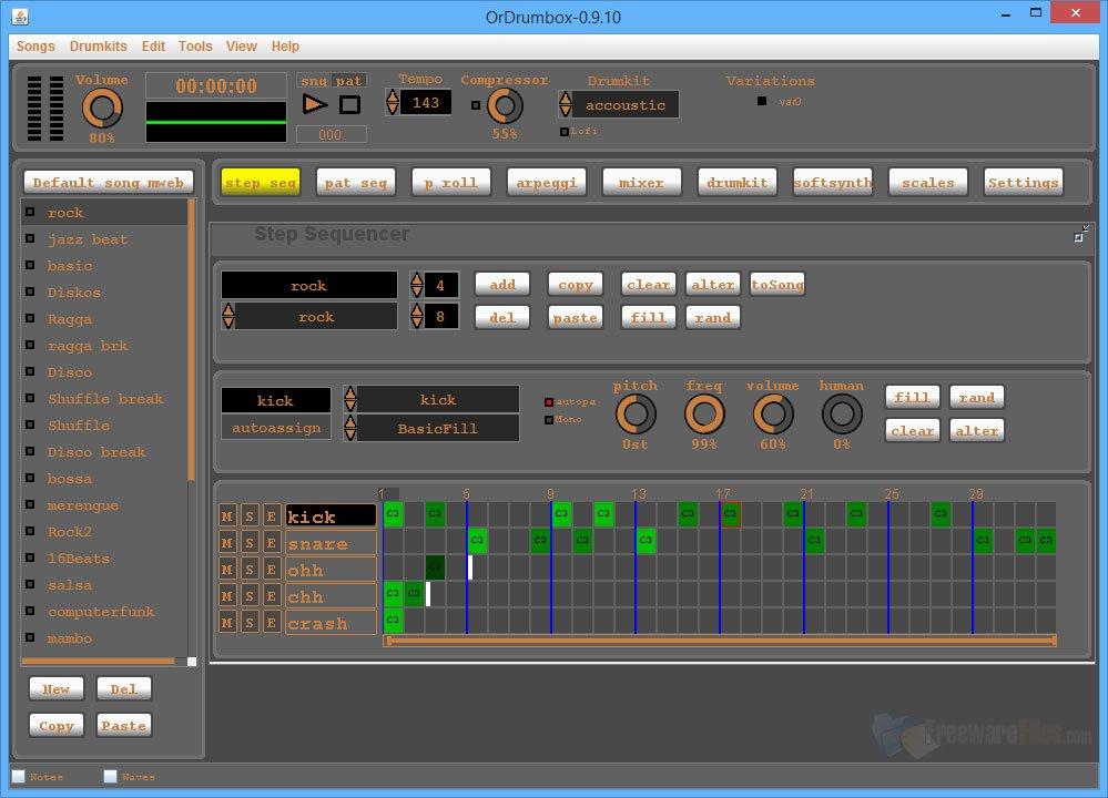 Ordrumbox-screenshots