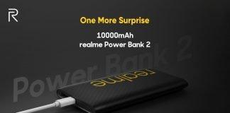 Realme powerbank 2 10000mah