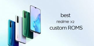best realme x2 custom roms