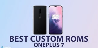oneplus 7 custom roms