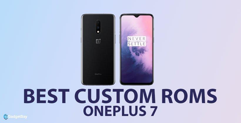 oneplus 7 custom roms