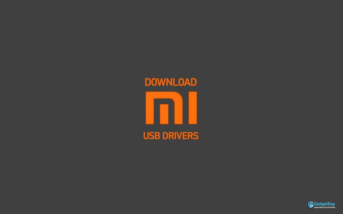 downlaoad mi usb drivers