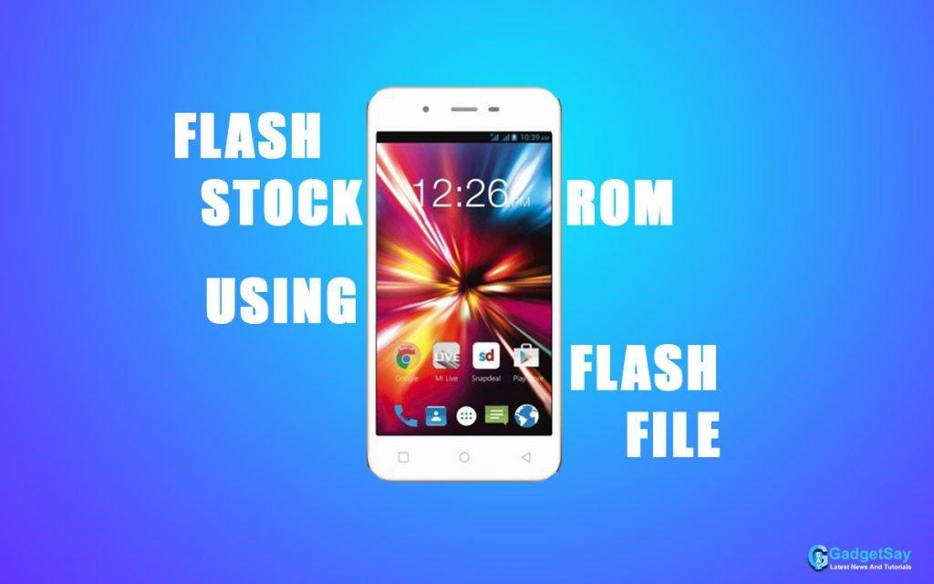 micromax q380 flash file