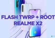 flash twrp realme x2