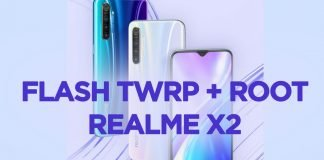 flash twrp realme x2