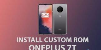 install oneplus 7t custom roms
