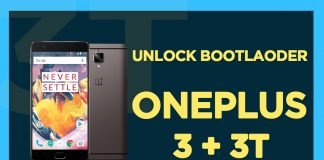 oneplsu 3 and 3 t unlck bootlaoder