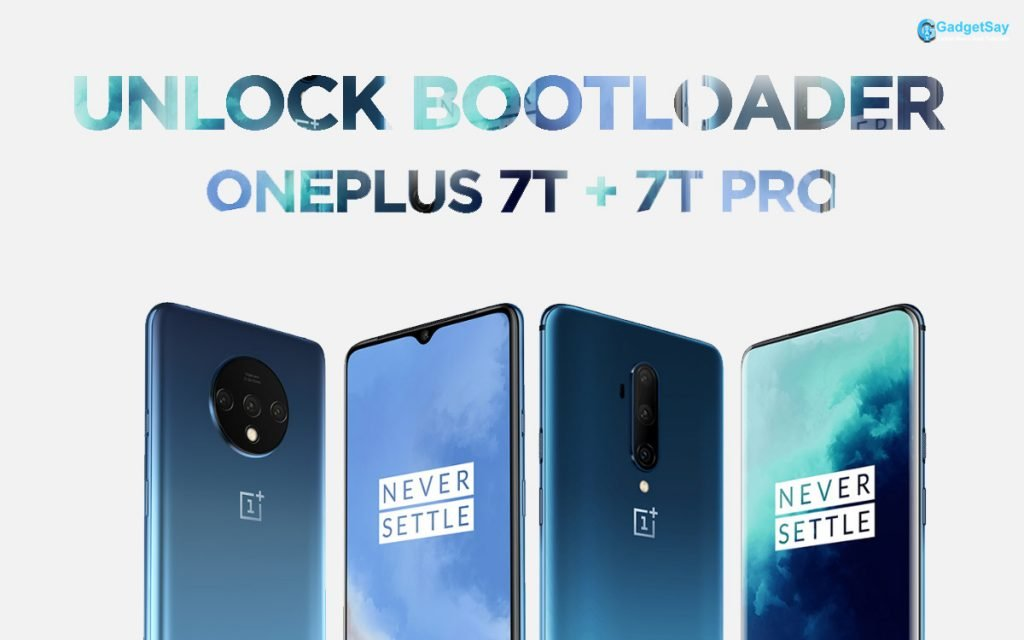 oneplus 7t and 7t pro unlock bootlaoder