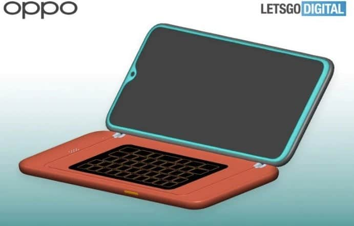 oppo qwerty keyboard patent