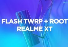 realme xt flash twrp and root