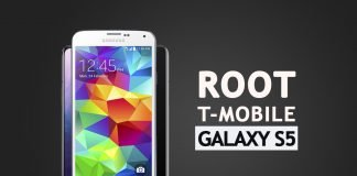 root t-mobile galaxy s5