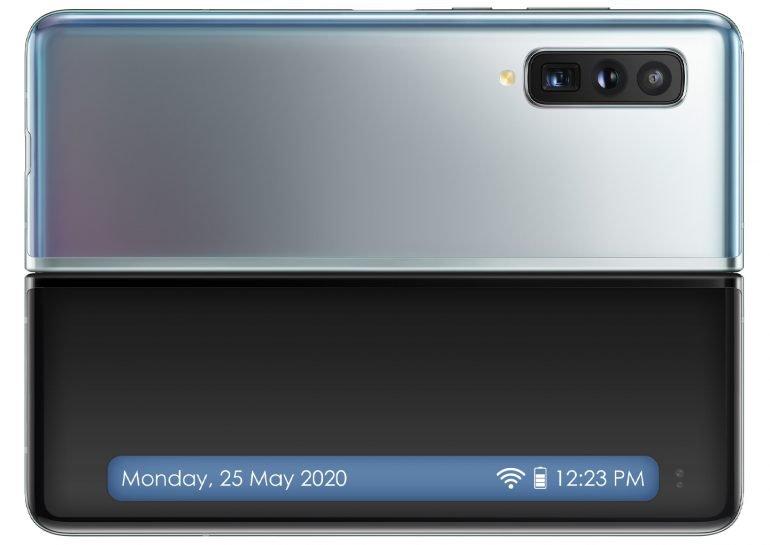 Samsung waterproof folding screen smartphone