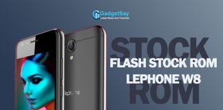 stock rom lephone w8 flash file