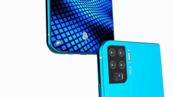Huawei P50 pro concept render