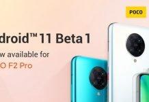 Poco F2 Android 11