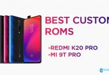 best custom roms redmi k20 pro