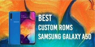 galaxy a50 custom roms
