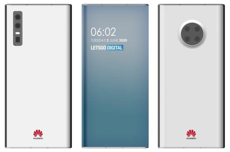 Huawei smartphones with under-screen camera