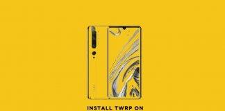 install twrp on mi 10