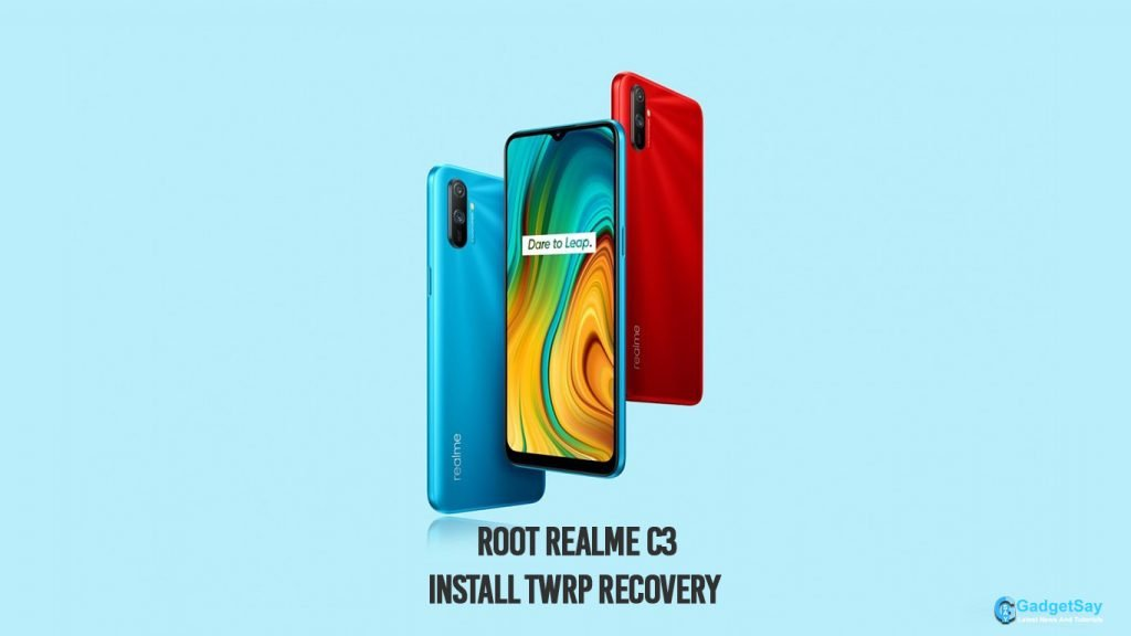 root realme c3