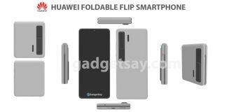 Huawei Foldable flip Smartphone