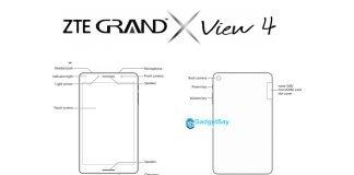 zte grand 4 view x