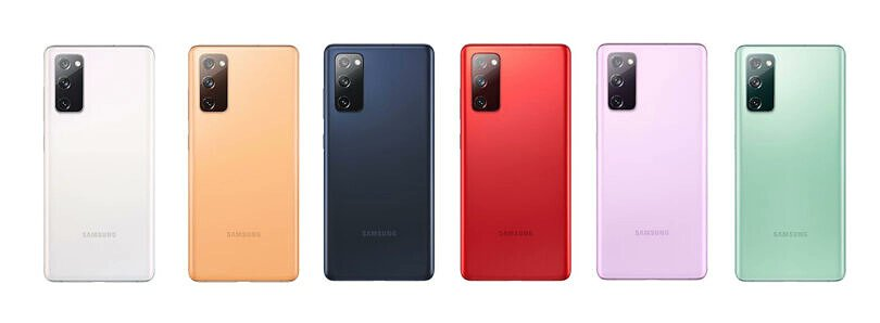 Samsung Galaxy S20 Fan Edition Color Variants