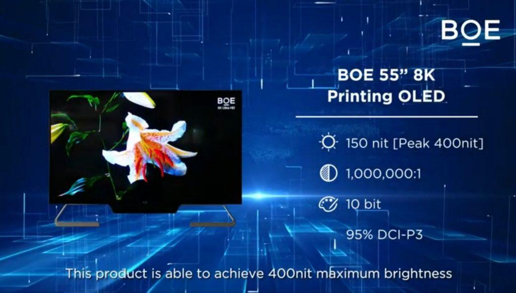 BOE Inkjet Printing