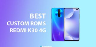 Best Custom ROms for Redmi K30 4G