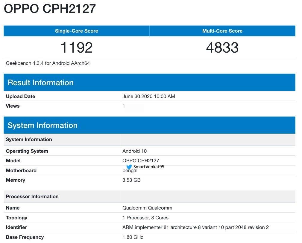 OPPO CPH2127