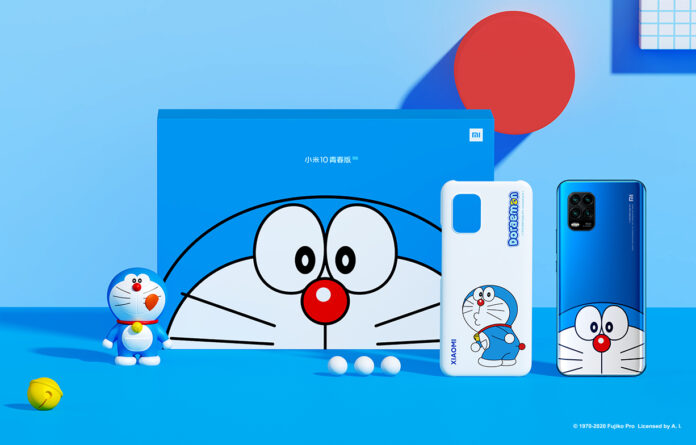 Xiaomi Mi 10 Lite Doraemon Limited Edition