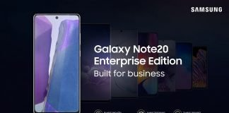 galaxy note 20 enterprise edition